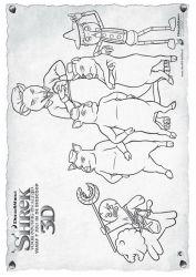 plansa de colorat shrek de colorat p50