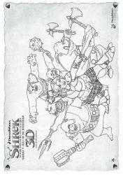 plansa de colorat shrek de colorat p52