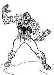 plansa de colorat spiderman de colorat p35
