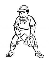 plansa de colorat sport de colorat p94
