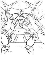 plansa de colorat testoasele ninja de colorat p03