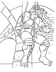 plansa de colorat testoasele ninja de colorat p10