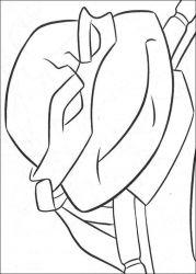 plansa de colorat testoasele ninja de colorat p35
