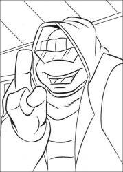 plansa de colorat testoasele ninja de colorat p36