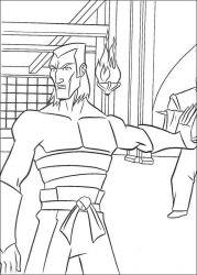 plansa de colorat testoasele ninja de colorat p68