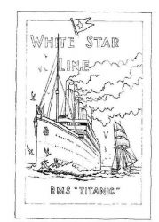 plansa de colorat titanic de colorat p01