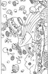 plansa de colorat toamna de colorat p120