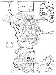 plansa de colorat toamna de colorat p29