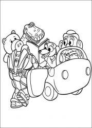 plansa de colorat toy story de colorat p113