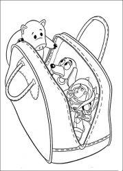 plansa de colorat toy story de colorat p114