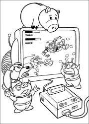 plansa de colorat toy story de colorat p18