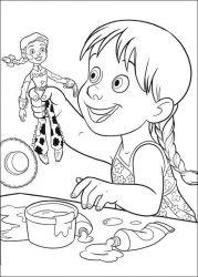 plansa de colorat toy story de colorat p26