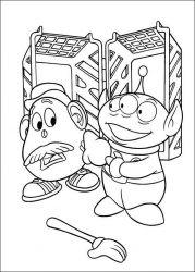 plansa de colorat toy story de colorat p27