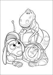plansa de colorat toy story de colorat p35