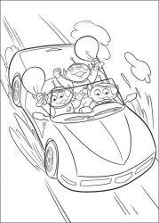 plansa de colorat toy story de colorat p37