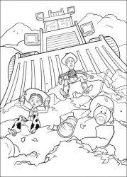 plansa de colorat toy story de colorat p39