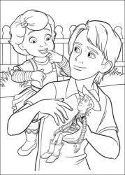 plansa de colorat toy story de colorat p42