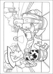 plansa de colorat toy story de colorat p43