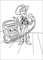 plansa de colorat toy story de colorat p44