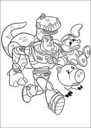 plansa de colorat toy story de colorat p46