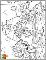 plansa de colorat toy story de colorat p52