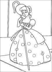 plansa de colorat toy story de colorat p64