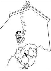 plansa de colorat toy story de colorat p84