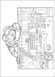 plansa de colorat toy story de colorat p92