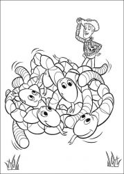 plansa de colorat toy story de colorat p96