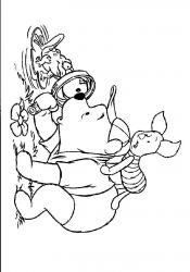 plansa de colorat winnie the pooh de colorat p104