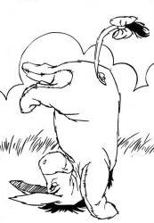 plansa de colorat winnie the pooh de colorat p110