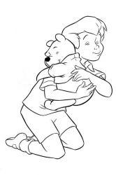 plansa de colorat winnie the pooh de colorat p111