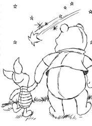 plansa de colorat winnie the pooh de colorat p116