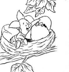 plansa de colorat winnie the pooh de colorat p156