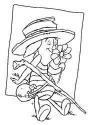 plansa de colorat winnie the pooh de colorat p165