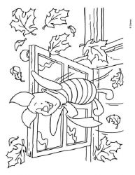 plansa de colorat winnie the pooh de colorat p172