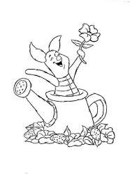 plansa de colorat winnie the pooh de colorat p173