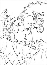 plansa de colorat winnie the pooh de colorat p177