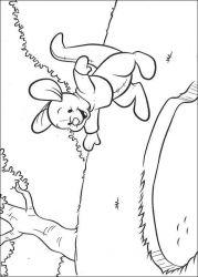 plansa de colorat winnie the pooh de colorat p183