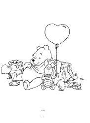 plansa de colorat winnie the pooh de colorat p27