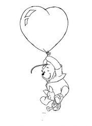 plansa de colorat winnie the pooh de colorat p29