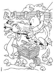 plansa de colorat winnie the pooh de colorat p36