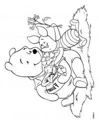 plansa de colorat winnie the pooh de colorat p40