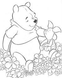 plansa de colorat winnie the pooh de colorat p48