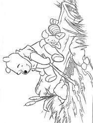 plansa de colorat winnie the pooh de colorat p53
