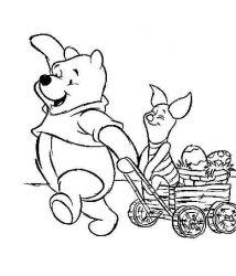 plansa de colorat winnie the pooh de colorat p69