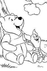 plansa de colorat winnie the pooh de colorat p70