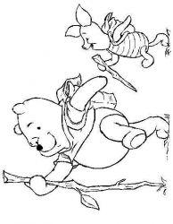 plansa de colorat winnie the pooh de colorat p71