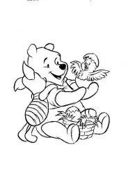 plansa de colorat winnie the pooh de colorat p72