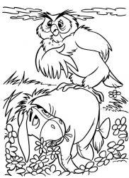 plansa de colorat winnie the pooh de colorat p84